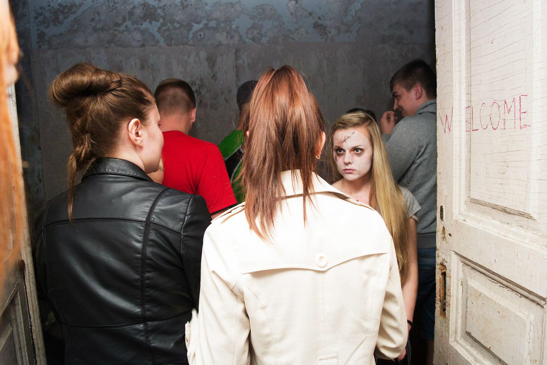 Ночь музеев: комната ужасов и летучие мыши