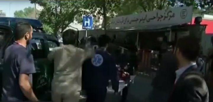 В дипломатическом квартале Кабула раздался мощный взрыв