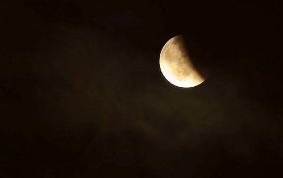 Сегодня будет лунное затмение