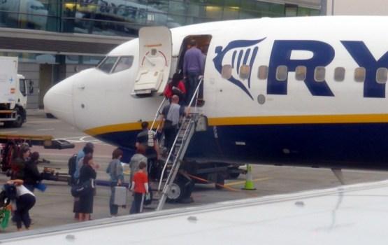 Ryanair отменил два сегодняшних рейса