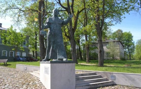 На службе Богу  и латгальскому народу