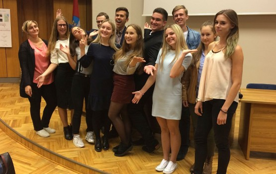 Активная молодежь города обещает перемены