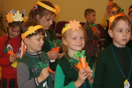 Праздник посвящался моркови