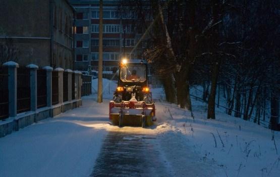Коммунальщики готовы к наступающему снегопаду