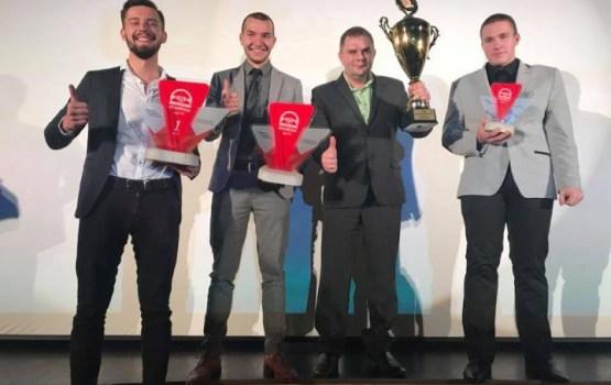 Даугавпилсские студенты стали чемпионами Латвии по картингу