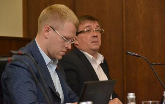 Высказывания Элксниньша и Кононова оценит комиссия по этике (ВИДЕО)