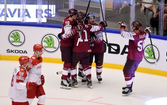 Сборная Латвии – в четвертьфинале мирового первенства
