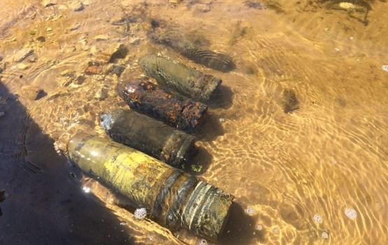 Большие Стропы: саперы обезвредили снаряды Второй мировой