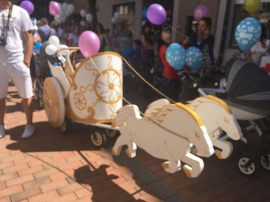 К параду колясок готовились неделю