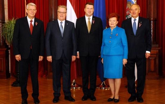 Исполнилось 25 лет с восстановления института президента Латвии