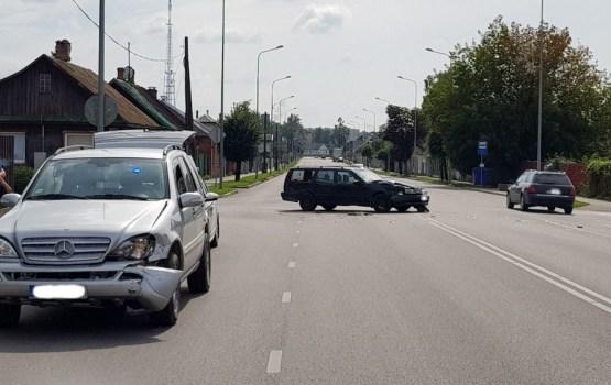 Фотофакт: авария на улице Smilšu
