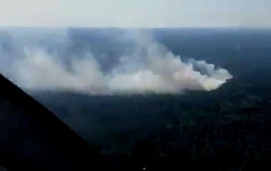Крупный пожар возник в Кемерском национальном парке