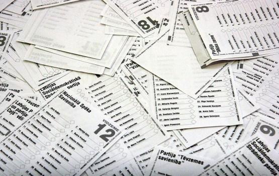 Состоится жеребьевка номеров кандидатских списков партий на выборах Сейма