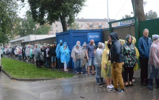 Концерт Prāta Vētra: эмоции сильнее дождя