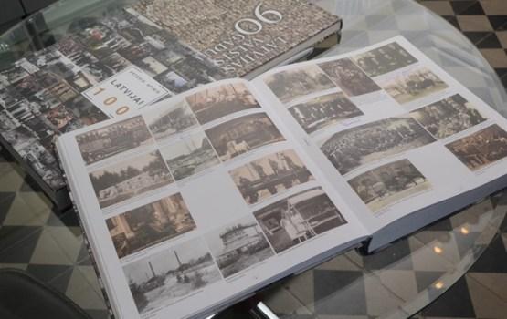 Состоялась презентация книги «Латвии 100»