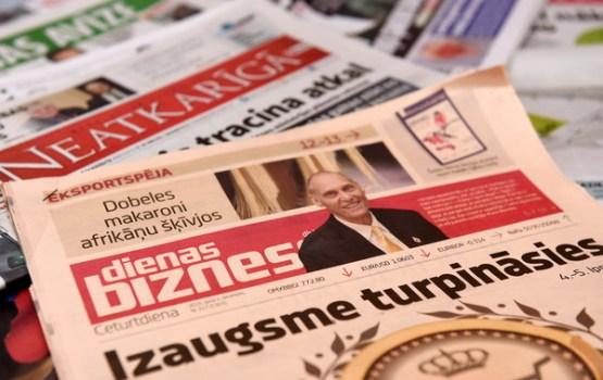LETA:Обзор латвийской прессы