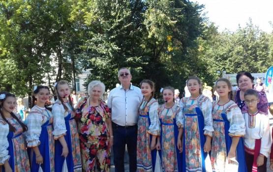 Даугавпилчане поздравили город Владимир с днем рождения