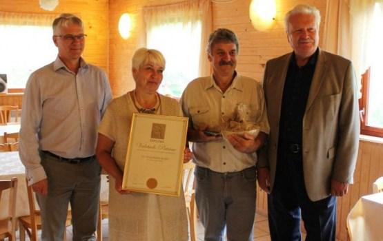 Я. Дуклавс отблагодарил латгальских производителей здорового питания
