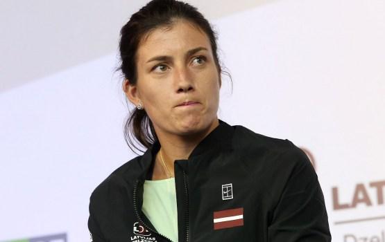 Севастова обыграла третью ракетку мира и вышла в полуфинал US Open