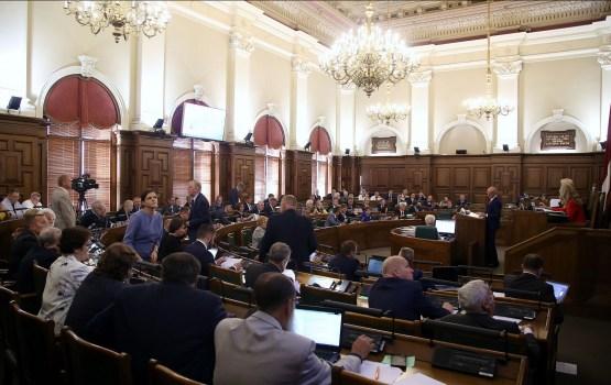 Партии декларировали обязательства в размере 1,4 млн евро