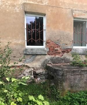 Фотофакт: «Наш дом разваливается. Что делать?»