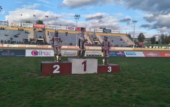 Евгений Костыгов впервые стал чемпионом Латвии
