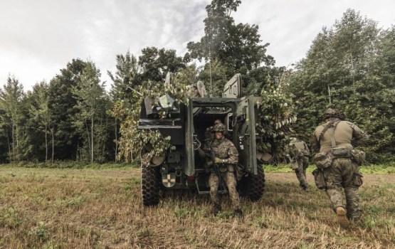 Под Бауской планируется открыть военную базу