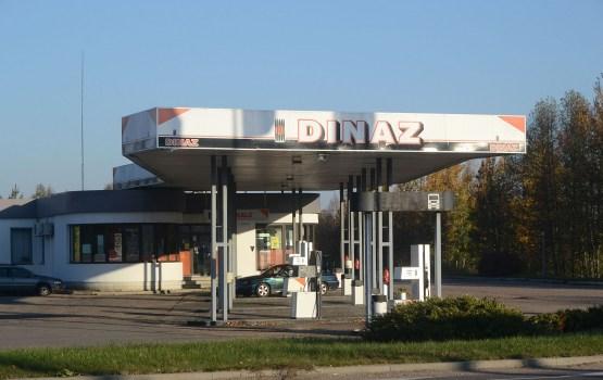 Место АЗС DINAZ займут эстонские заправки?