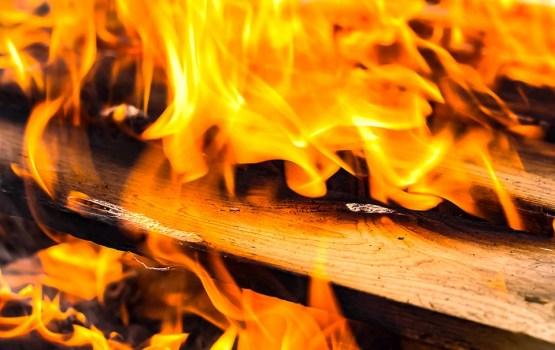 За три дня в Латгалии произошло множество пожаров
