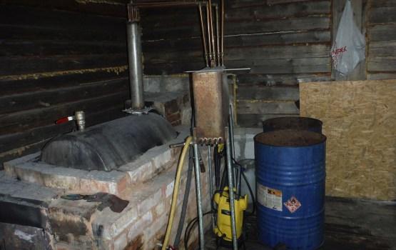 В Аглонском крае ликвидировали подпольный спиртзавод
