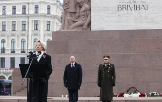 Мурниеце: «Латвия сейчас находится в наилучшей ситуации с безопасностью за всю свою историю»