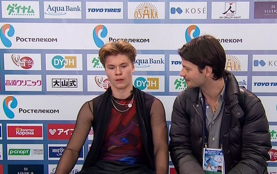 Денис Васильев стал восьмым в Японии