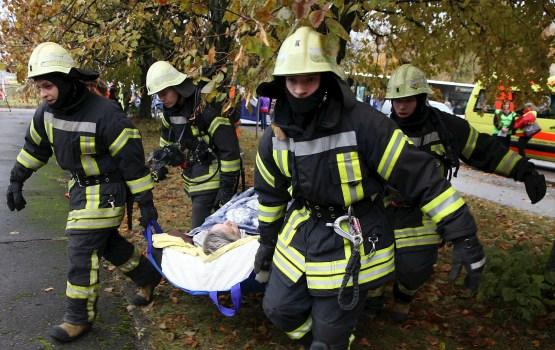 В пожаре в Смилтенском крае пострадал один человек