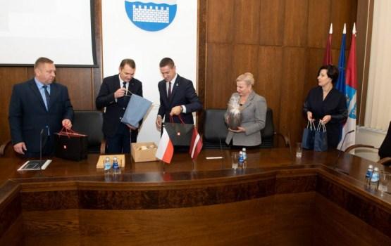 В Даугавпилс приехала делегация из Люблина