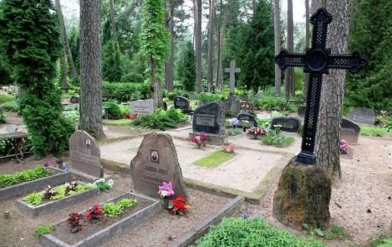 Украдены кресты с Екабпилсского кладбища