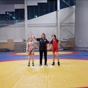 В ДОЦ состоялся рождественский турнир по женской вольной борьбе