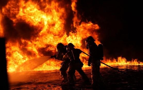 В результате пожара погиб один человек