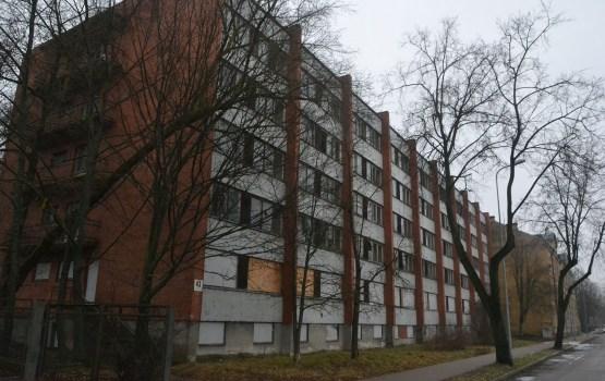 Здание бывшего общежития планируется снести в 2020 году