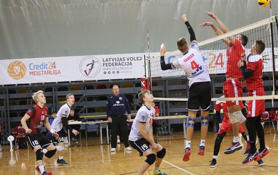 Даугавпилсские волейболисты прервали серию поражений