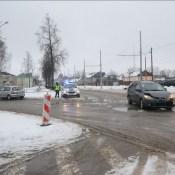 Фотофакт: авария на перекрестке трех улиц
