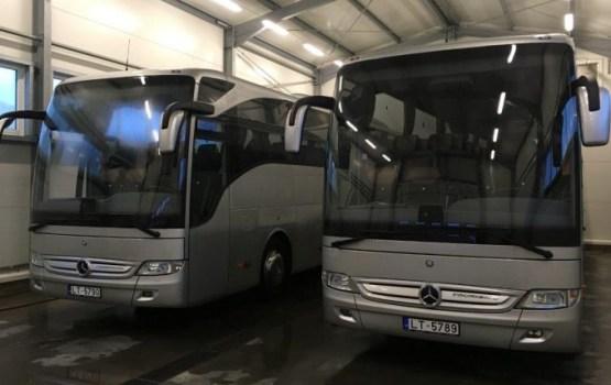 Daugavpils autobusu parks приобрел новые автобусы