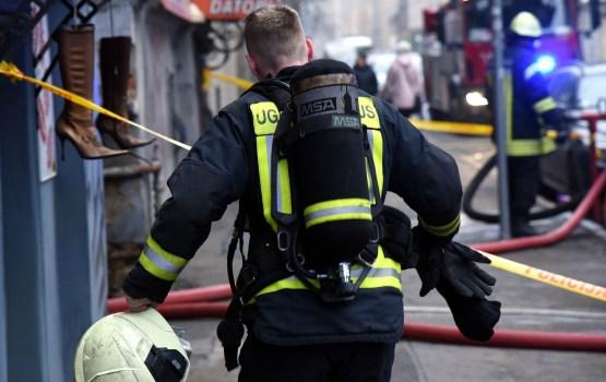 Вчера в Дагде во время пожара погиб человек