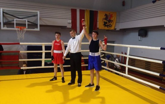 Даугавпилсские боксеры успешно выступили в Литве