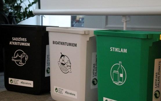 Опрос: 56% жителей Латвии сортируют отходы
