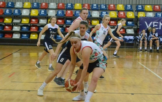 Даугавпилчанки обыграли баскетболисток «Лиепаи»