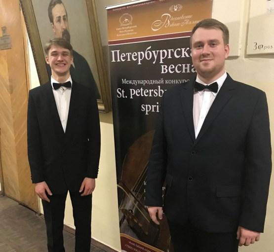 Успех даугавпилсских музыкантов в Санкт-Петербурге