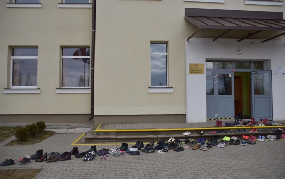 Бикерниекская школа присоединилась к акции учителей