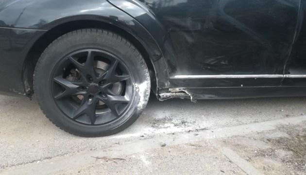 Фотофакт: неизвестные подожгли машину Сергея Парфенова
