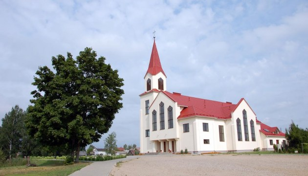 Пасхальные богослужения в католических и лютеранских храмах Даугавпилса