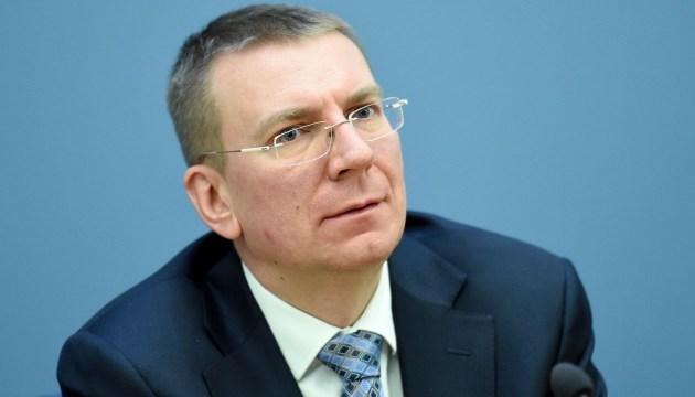 Ринкевич предложил французам помощь Латвии в реставрации собора Парижской Богоматери
